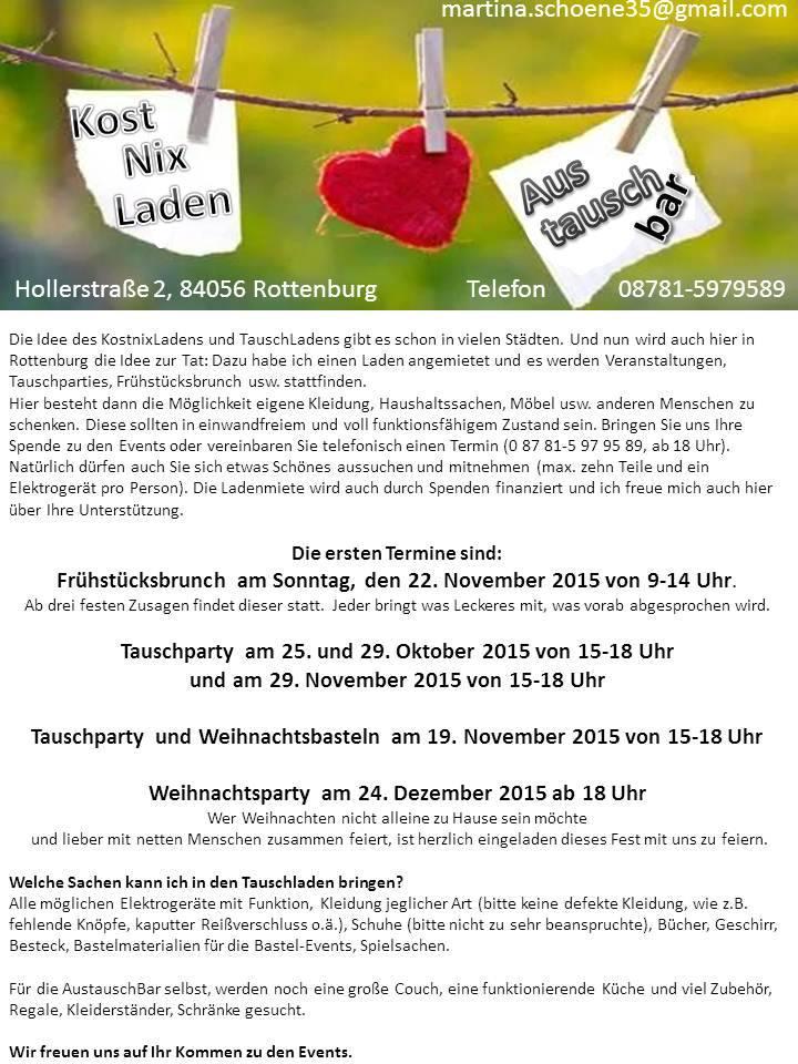 AustauschBar Rottenburg